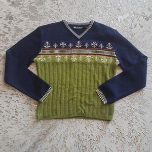 Nils Skiwear Vintage Wool Blend Sweater SzS